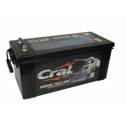 Bateria Cral 170Ah 12V diesel top line selada