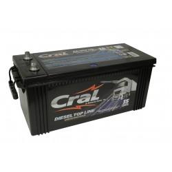 Bateria Cral 180Ah 12V selada diesel top line