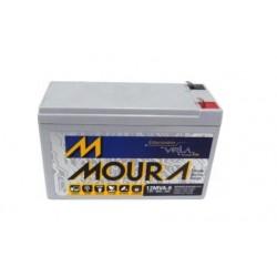 Bateria Moura 24Ah 12V selada.